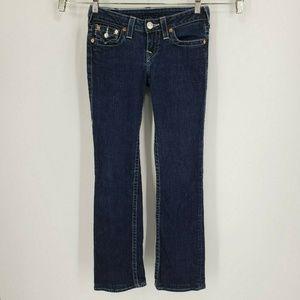 True Religion Hi Rise Boot Cut Jeans Size 26x31